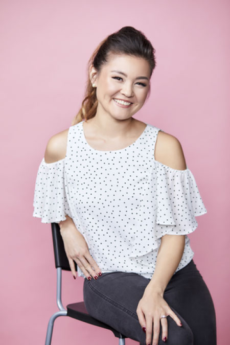 Ayla Toyokawa, founder of WedSites